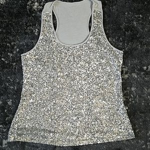 {i.n.c.} Sequin Tank Top
